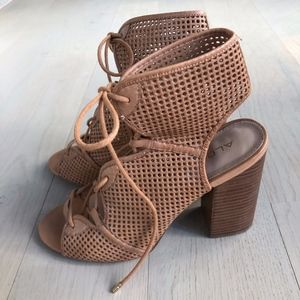 Aldo Heeled Sandal with lace up